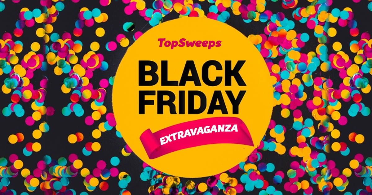 Enter for a chance to win the Black Friday Extravaganza at TopSweeps